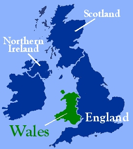 About Wales - Where is wales